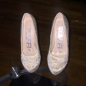 Shoes - rhinestone prom / wedding  shoes